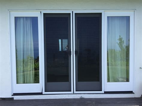 Double Sliding Screen Door Rescreening In Malibu With Pet Sliding Glass Screen Door