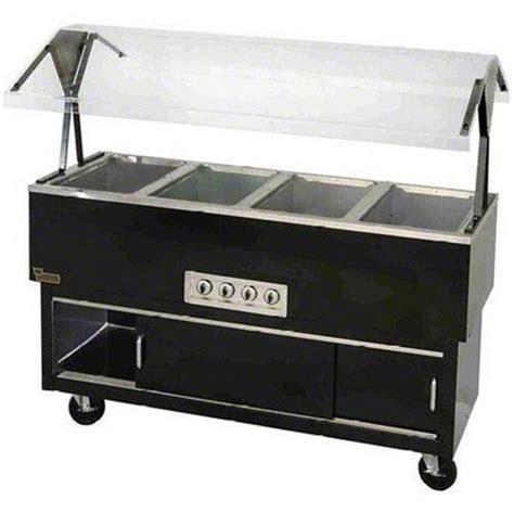 commercial buffet steam table duke manufacturing buffet table food portable 4