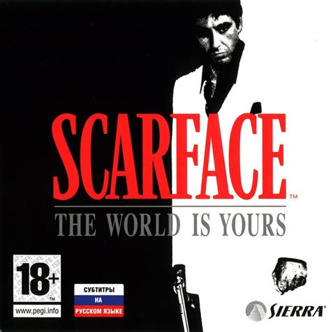 scarface the world is yours 2006 playstation 2 box