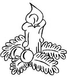 Dibujos para colorear de velas de navidad plantillas para colorear de