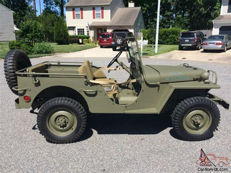 wwii jeep willys willys ma ww2 prototype military jeep ma ww2 prototype