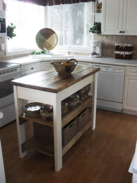 island table for small kitchen best 25 diy kitchen island ideas on