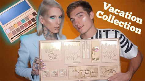 james charles palette trailer kylie cosmetics the vacation collection review