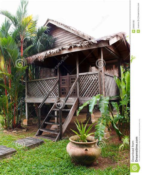Asian House Plans maison en bois antique traditionnelle malaisie photo
