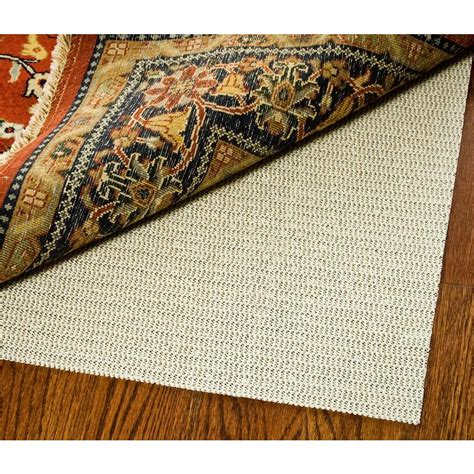 rug slide stoppers american slide stop premium all surface 8 ft x 10 ft fiber and rubber backed non slip rug pad