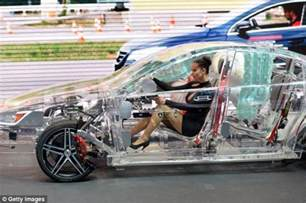 new car glass transparent car made of see through acrylic showcases the