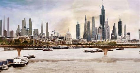 future london concept images  skyscrapers dominate