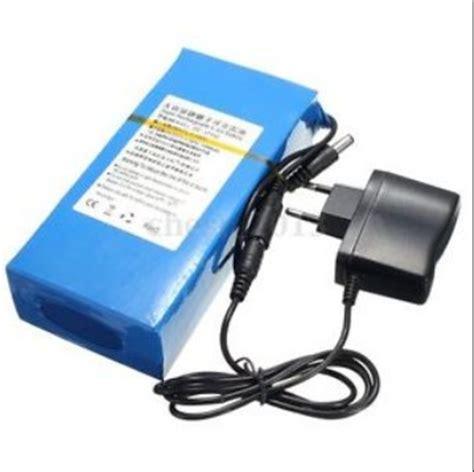Powerbank Li Ion 15 000mah cable luminoso bateria litio 12v