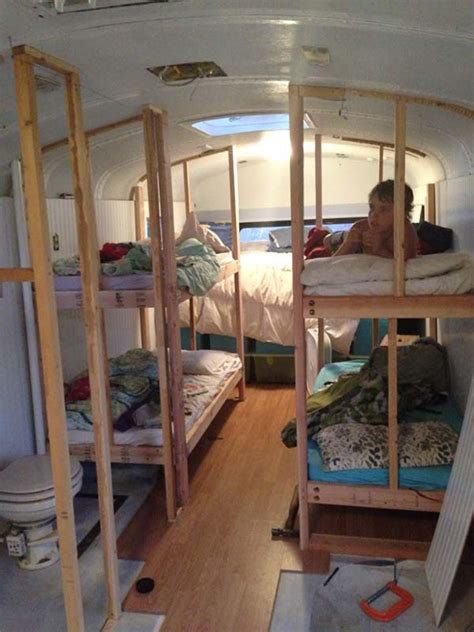 Travel Bunk Beds Remodel On Pinterest Conversion School Conversion And School Cer