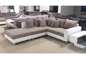 Sofa Mit Hocker by Wohnlandschaft Claudia Ecksofa Couch Xxl Sofa Mit Ottomane
