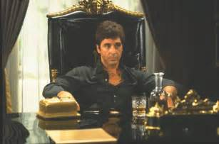 Scarface Chair Scarface Quotes Al Pacino Quotesgram