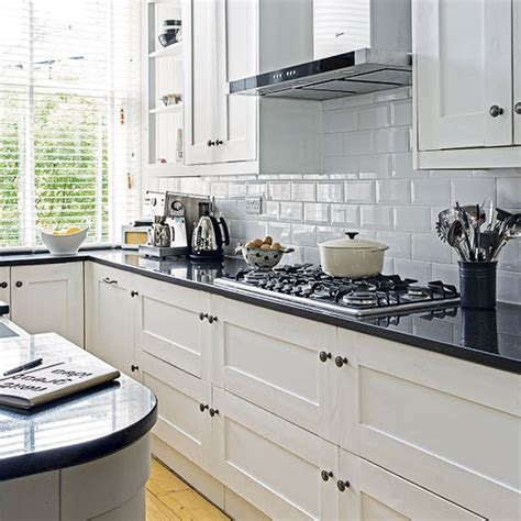 white kitchen black worktop white kitchen with black worktop decorating