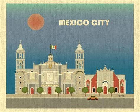zocalo gift card mexico city print zocalo art mexico travel poster