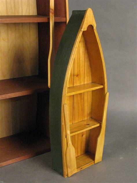 Row Boat Wall Shelf by 349 Novelty Boat Book Shelf And Wall Shelf Lot 349