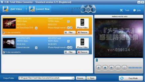 effectmatrix complete solution for video conversion on effectmatrix total video converter โปรแกรมแปลงไฟล