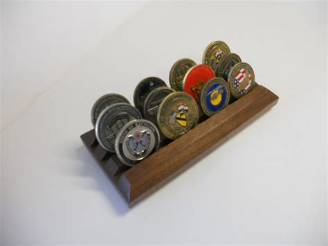 Coin Rack by Challenge Coin Display Rack Coin Holder Solid