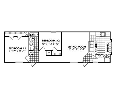 one bedroom mobile home floor plans single wide floor plans 16x56 singlewide beach shack