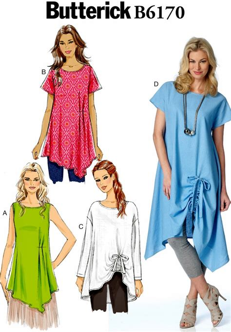 Tunic Asy pullover tunic pattern easy tunic tops pattern
