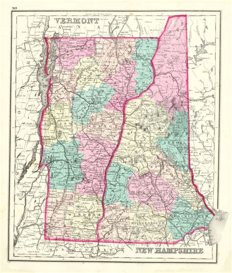 map new hshire and maine images map antique gray s atlas map of maine vermont new hshire o w gray 1873
