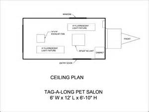 Salon Floor Plans floor plans mobile grooming trailers amp salons mobile dog