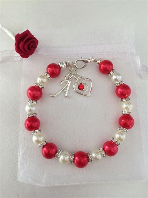 valentines day bracelets personalised valentines day charm bracelet gift any
