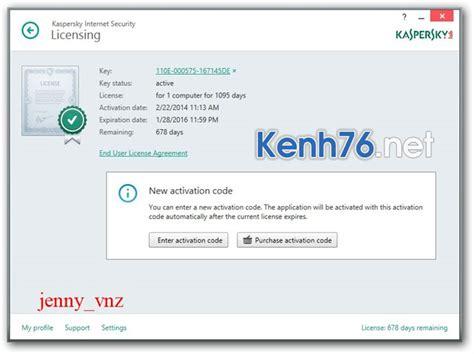 reset kis 2015 moi nhat hướng dẫn c 225 ch active kaspersky internet security 2014 mới