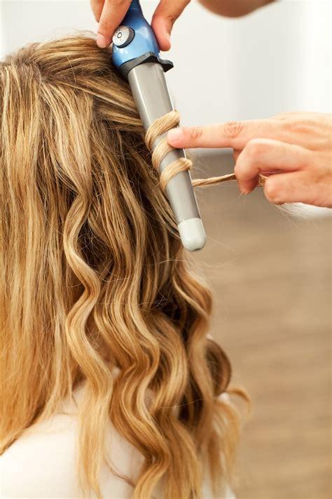 tutorial waves beach waves hair tutorial the stripe