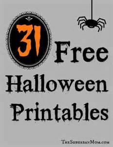 Free Halloween Decorations Printable 9 Best Images Of Halloween Ideas Free Printable Free