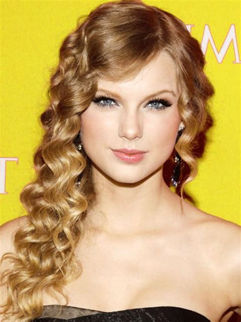 dance hairstyles for long straight hair taylor swift and her vintage curly hair locks women