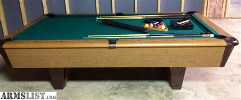 8ft pool table for sale armslist for sale trade 8ft pool table