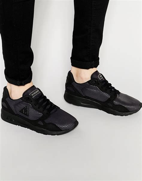 le coq sportif lcs r900 sneakers in black for lyst