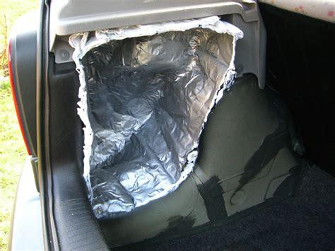gfk matten verarbeiten subwoofer einbau im kofferraum rockport1911