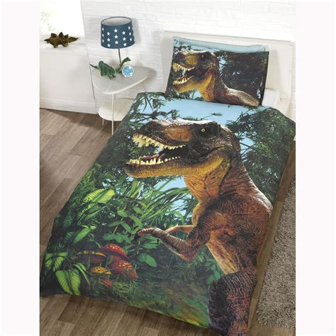 Dinosaur Design Single Duvet Cover Sets Boys Bedding Dinosaur Bedding For