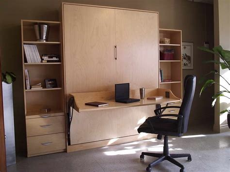 Murphy Bed Office Desk Furniture Murphy Beds With Desk Interior Decoration And Home Design