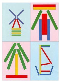 sticks card template craft stick pattern cards from sol da eira free