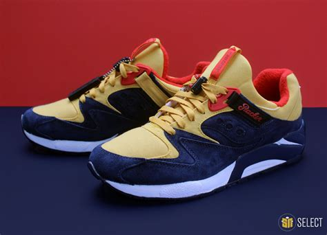 sneaker news packer x saucony grid 9000 quot snow quot sn select