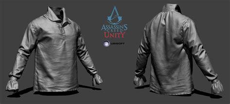 zbrush tutorial clothes artstation assassin s creed unity arno shirt zbrush