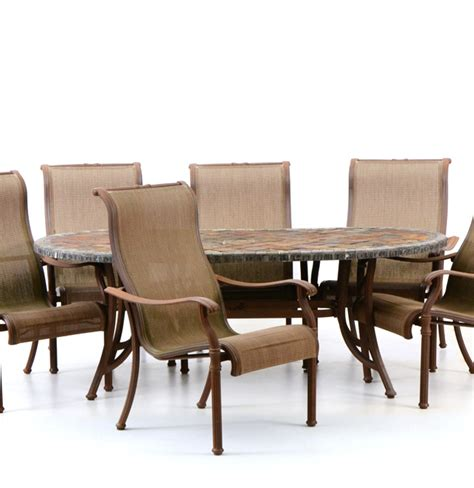 elbertex outdoor dining table and chairs ebth