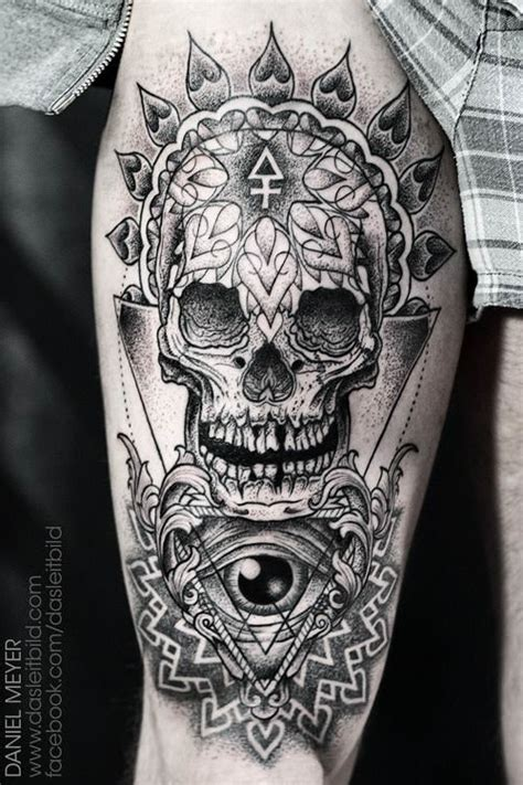 tattoo geometric skull daniel meyer tattoos symbols of the soul 171 tattoo