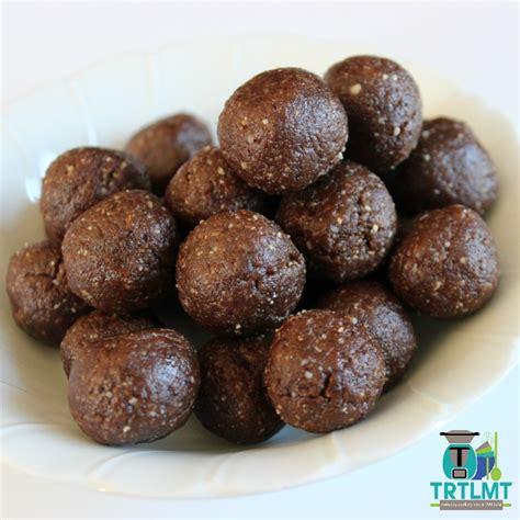 mini balls mini chocolate balls the road to loving my thermo mixer