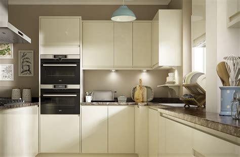 Dove Grey Kitchen Cabinets soho gloss cream kitchen modern style range benchmarx