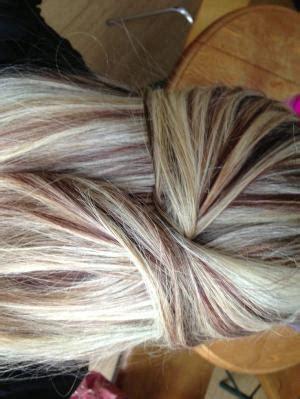 highlights tgar matches a medium auburn dark brown hair with blonde highlights love this look