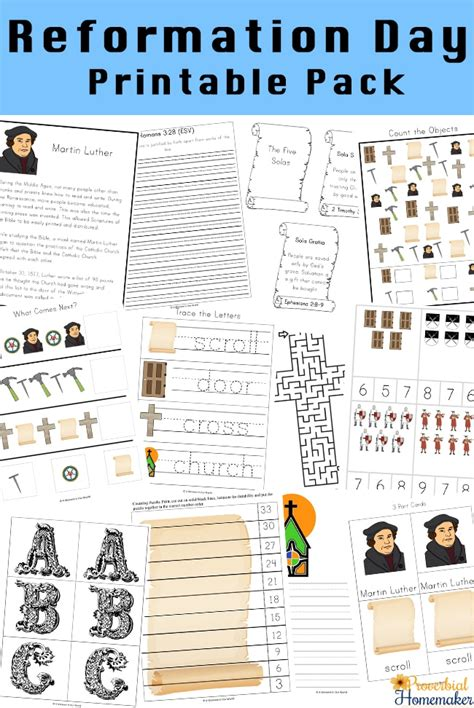 5 Solas Coloring Page by Free Reformation Day Printable Pack 131 Pages Free