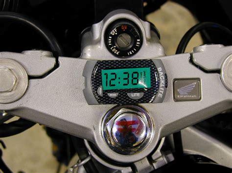 Digitaluhr Motorrad by Digitaluhr