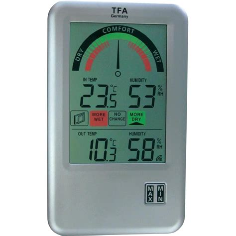 Thermometer Hygrometer wireless thermo hygrometer tfa 30 3045 it from conrad