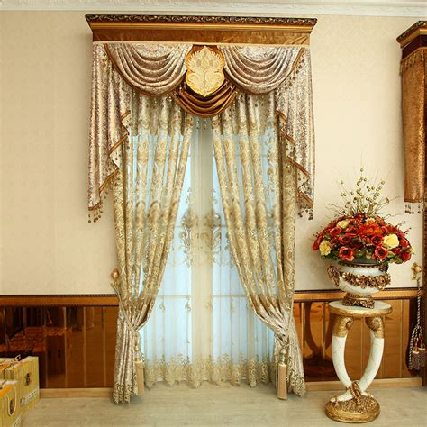 Formal Draperies Italy Style Funky Curtains And Drapes Made Of Polyester Fabric