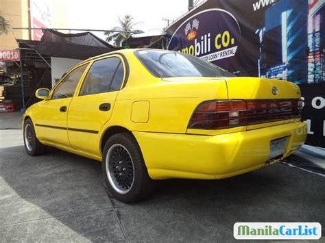 manual cars for sale 1995 toyota corolla instrument cluster toyota corolla manual 1995 for sale manilacarlist com 404517