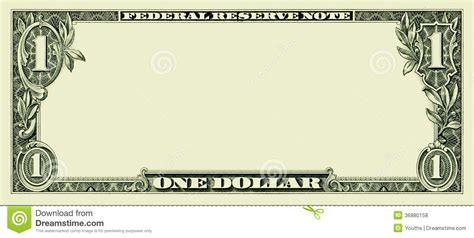free money template 14 blank dollar vector images dollar bill vector
