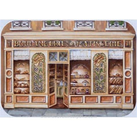 Plastik Bakery quot boulangerie quot bakery plastic placemat