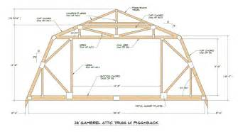 Gambrel Barn Designs by Discussion Of Gambrel Roof Designs With Attics